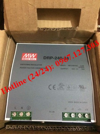 Nguồn MEAN WELL DRP-240-24 ( 24VDC/10A)