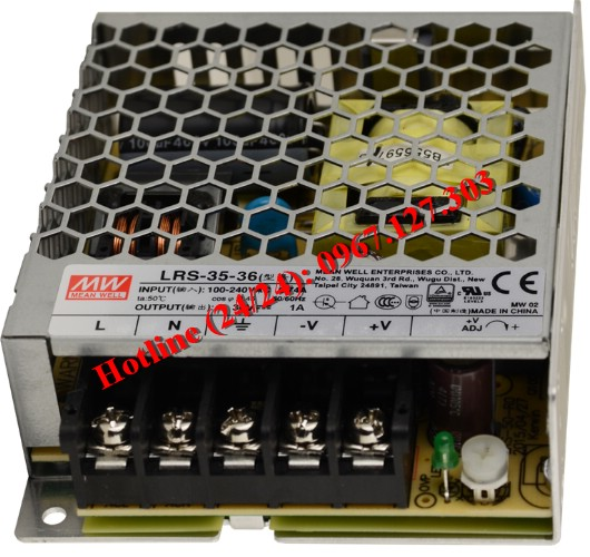 MEAN WELL LRS-35-36 ( 36V/1A)