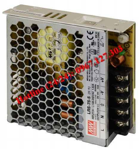 MEAN WELL LRS-75-5 ( 5V/14A)