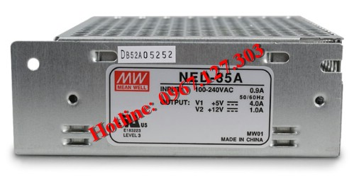 MEAN WELL NED-35A  (5V/4A, 12V/1A)