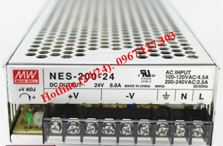 MEAN WELL NES-200-24 ( 24V/8.8A)