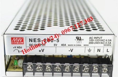 MEAN WELL NES-200-5 ( 5V/40A)