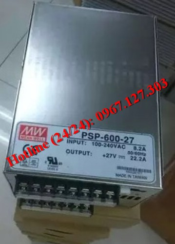 MEAN WELL PSP-600-27 (27VDC/22.2A)