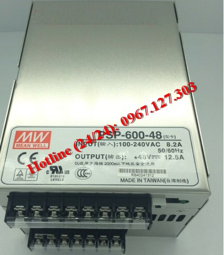 MEAN WELL PSP-600-48 (48VDC/12.5A)