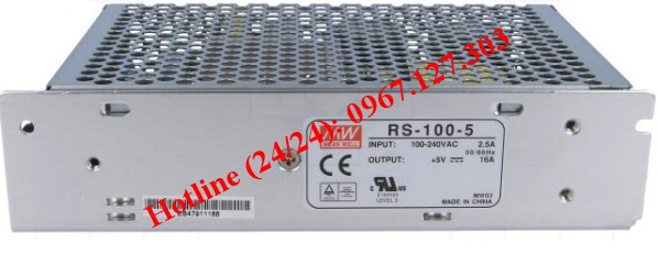 MEAN WELL RS-100-5 (5V/16A)