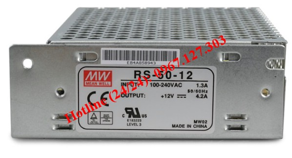 MEAN WELL RS-50-12 (12V/4.2A)