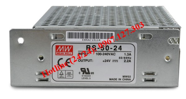 MEAN WELL RS-50-24 (24V/2.2A)