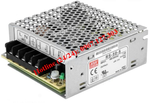 MEAN WELL RS-50-5 (5V/10A)