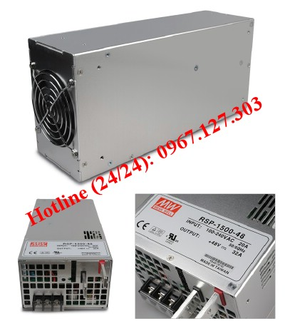 NGUỒN MEANWELL RSP-1500-5 , RSP-1500-12, RSP-1500-15, RSP-1500-24, RSP-1500-27, RSP-1500-48