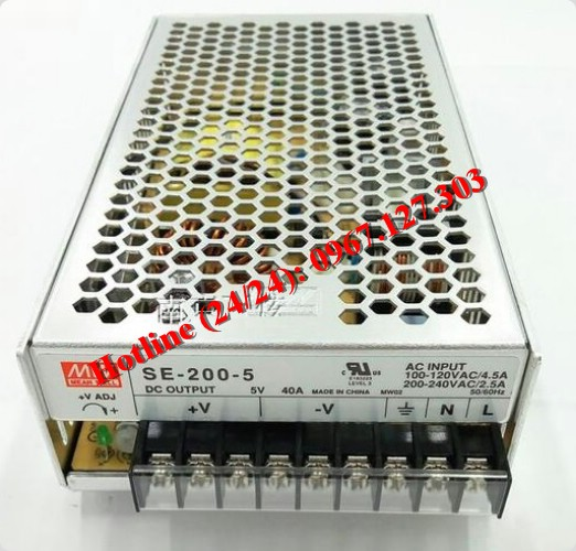 MEAN WELL SE-200-5 ( 5V/40A)