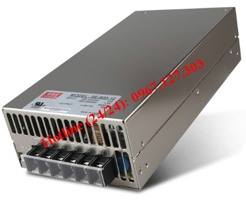 MEAN WELL SE-600-12 ( 12V/50A)