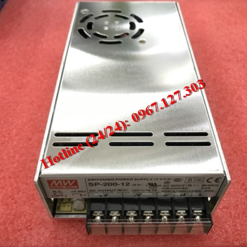 MEAN WELL SP-200-12 (12V/6.7A)