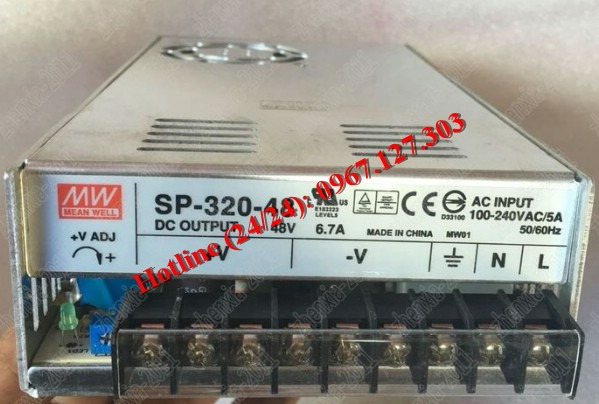 MEAN WELL SP-320-48 (48V/6.7A)