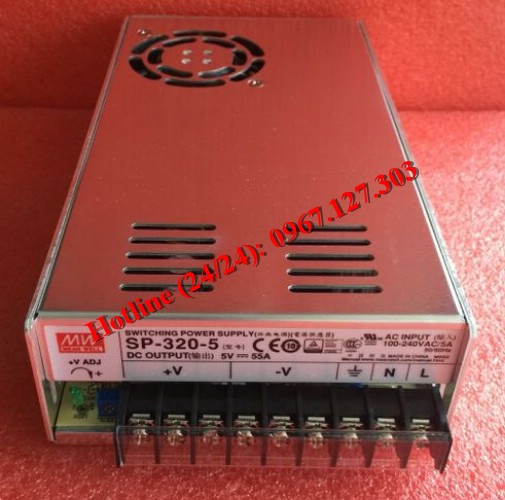 MEAN WELL SP-320-5 (5V/55A)