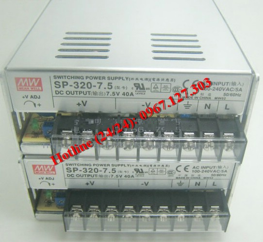 MEAN WELL SP-320-7.5 (7.5V/40A)