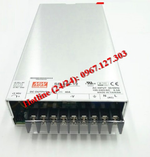 MEAN WELL SP-480-12 (12V/40A)
