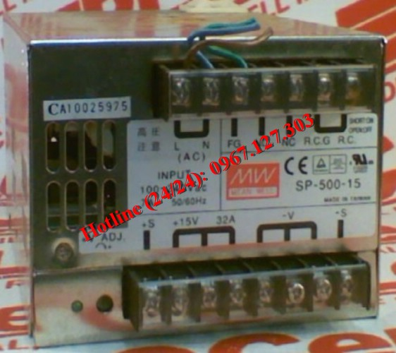 MEAN WELL SP-500-15 (15V/32A)