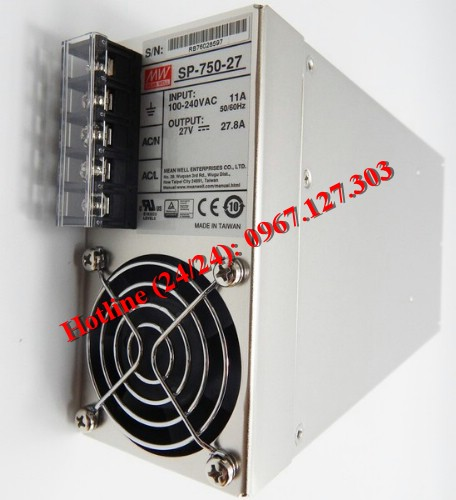 MEAN WELL SP-750-27 (27V/27.8A)